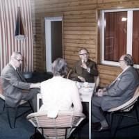 Wehner bei Honecker